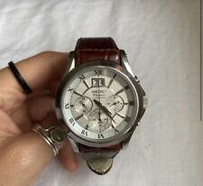 Seiko Premier Chronograph Watch 7T04-0440