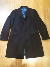 Versace mens  Cashmere And Wool Coat  size XL