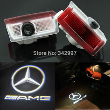 2x Ghost LED Door Courtesy Laser Light For Mercedes W212 E320 E350 E63 E550 AMG