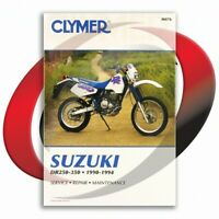 1990-1993 Suzuki DR250 Repair Manual Clymer M476 Service Shop Garage