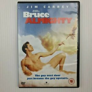 Bruce Almighty DVD - Jim Carrey - Region 2 (UK/Europe) - FREE TRACKED POSTAGE