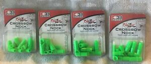 Bohning Blazer Crossbow Nock - 4 boxes of 12 Pack- 48 total- Archery Hunting