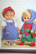 Dolls Clothes Knitting Pattern (DC005)