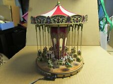 Mr. Christmas World's Fair Swing Carousel Gold Label - 30 Songs Selection