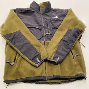 The North Face Denali Polartec Fleece Jacket Men's 2XL / XXL Green