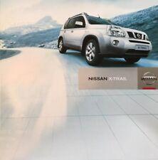 Nissan X Trail XTrail X-Trail 2008 Car Brochure Sales Literature