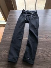 BOYS BLACK ATHLETIC LEGGING S NIKE DRI-FIT PRO COMBAT COMPRESSION PANTSW9.5/L22