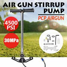 4500 PSI Luftpumpe Air Gun Pump PCP Handpumpe Hochdruck Luftgewehre Standpumpe