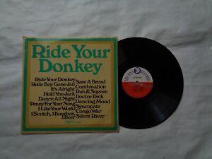 RIDE YOUR DONKEY ON  TROJAN COMPILATION RECORDS TROJAN TTL 18 1969 RARE