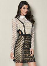 VENUS Cut Out Detail Lace Dress 2  NEW $69