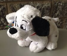 Disney# Vintage 101 Dalmatians Soft Plush With Tag Puppy# La  Carica Dei 101