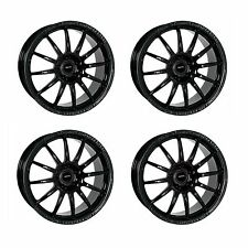 4 x Team Dynamics Black Pro Race 1.2 Alloy Wheels - 4x100 | 15x7 | ET15