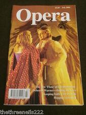 OPERA MAGAZINE - NEW FLUTE AT GLYNDEBOURNE - JULY 2004