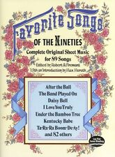 Favourite Songs Of The 1890s Play After the Ball Guitar Lyrics Music Book