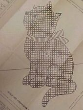 Vintage Quilt Pattern Calico Kitten Kitty Cat Applique Quilters Sewing Craft