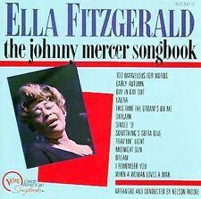 Ella Fitzgerald Sings The Johnny Mercer Songbook Fitzgerald, Ella Audio CD
