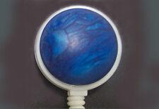 OCEAN BLUE Retractable Reel ID Card Badge Holder/Key chain ring Midnight