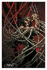 WOLVERINE Art Print MICHAEL TURNER Wolverine Origins SIGNED Steigerwald COA HTF
