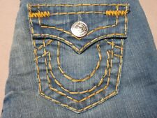 TRUE RELIGION BECKY SUPER T WOMENS SLIM BOOTCUT TENNESSEE BLUE JEANS SIZE 26 NEW
