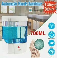 Automatic IR Hands Sanitizer 700ML Wall-Mounted Soap Shampoo Dispenser