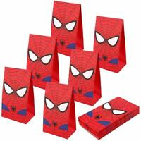 Spiderman Party Bags Goodie bags for Kids Superhero Themed Party, Set