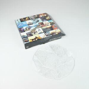 Cheese Plate - Hadeland Furu 20788 - Glass Ostebrett - 9 27/32in - Glass