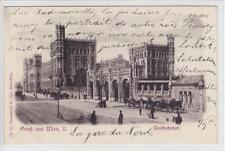 AK Wien II, Nordbahnhof, 1900