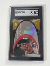 Michael Jordan 1996-97 SPx * GOLD * #SPX5 Die-Cut Hologram Ultra Rare SP SGC 8.5