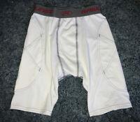 NWT Rawlings Baseball Sliding Shorts, White, Youth Large.
