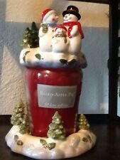 Vintage Baked Apple Pie Ginger Jar And Holiday Set  New Home Interiors Gifts GTC