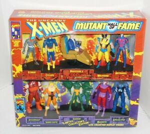 Vintage 1993 ToyBiz Marvel Uncanny X-Men Mutant Hall of Fame 10 Figure Set NIB