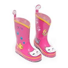 Kidorable Lucky Cat Rain Boot (Toddler/Little Kid), Pink, 1 M Us Little Kid