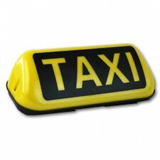 Taxischild 2-fach Magnet LED