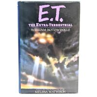 1982 E.T. The Extra-Terrestrial Book Club Edition Hardcover William Kotzwinkle