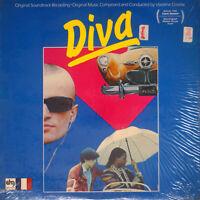 Vladimir Cosma - Diva (Original Soundtrack Recording (NM/NM) [A3-1390] vinyl LP