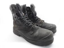 """Dakota Men's 8"""" QTS Steel Toe Work Boots Black Size 12M"""