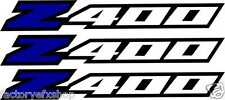 LTZ400 Fender Graphics Plastic Decal Sticker Ltz 400 Z400 Suzuki Blue Wheel Rim