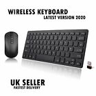 Ultra Slim USB 2.4GHz Cordless Wireless Keyboard and Mouse Set for PC & Laptop