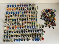 Lego Huge Bundle Job Lot 130 Minifigures Mini Figures Ninjago City + Accessories