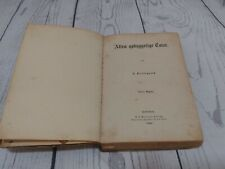 "Soren Kierkegaard "" ATTEN OPBNGGELIGE TALER"" DATED 1862"