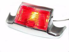Red Front Fender Tip Light For Harley FLHTCU Ultra Classic FLSTC FLHT Standard