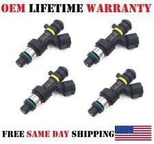 4/Set Reman OEM Jecs Fuel Injectors for 2009/2010 Nissan Cube 1.8L I4 P# FBY2850