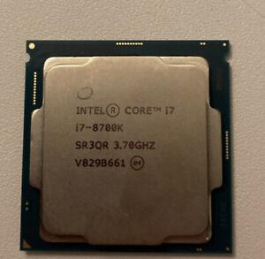 Intel Core I7-8700k 3.7ghz Lga1151 CPU