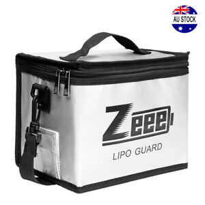 Zeee Lipo Battery Safe Bag Guard Fireproof Explosionproof for Charge & Storage