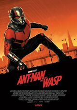 Ant-Man And The Wasp Marvel Odeon Exclusive A4 Posters Set Of 2 Free P/&P