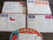 Cunard Queen Mary Final Voyage 1967 Personal Letters of Last Great Cruise RARE!