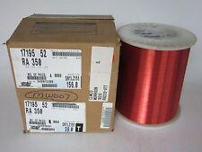 35 AWG 39 lbs. Elektrisola PN155 Single Enamel Coated Copper Magent Wire