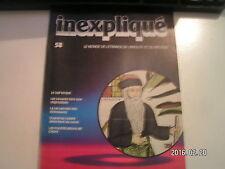 **a inexpliqué n°58 Le juif errant / La vie secrète de dinosaures