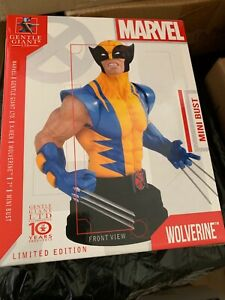 """Gentle Giant Wolverine X-Men 7""""  Mini Bust Limited Edition 723/ 850"""