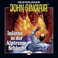 JOHN SINCLAIR - FOLGE 122 : INFERNO IN DER ALPTRAUM-SCHLUCHT TEIL 4/4   CD NEU